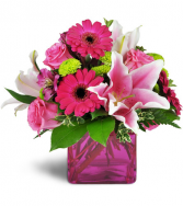 In the Pink All-around Floral Arrangement