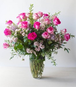 In the Pink Vase arrangement