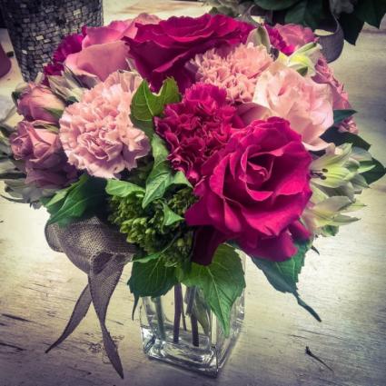 In the Pink Vase Arrangement