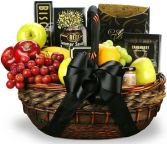 IN THEIR HONOR FRUIT & GOURMET BASKET