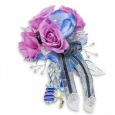 Indigo Night Corsage