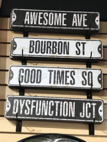 Indoor Street Signs