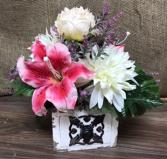Everlasting arrangement  Artificial flowers