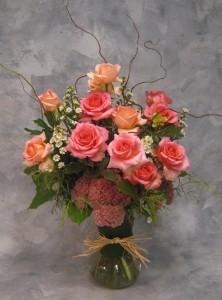 Infatuation  Dozen Colored Roses