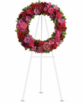 Infinite Love Funeral Wreath
