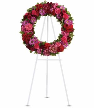 Infinite Love Standing Easel in Rossville, GA | Ensign The Florist
