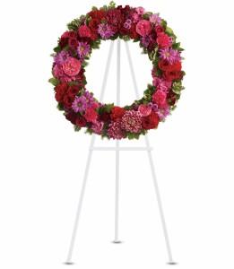 Infinite Love Wreath H2392A