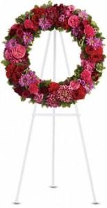 Infinite Love Sympathy Wreath