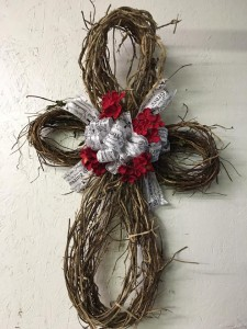Infinity Grapevine Wreath