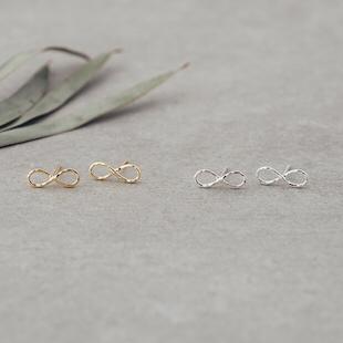Infinity Studs Glee Jewelry