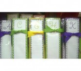Initial Note Pade Magnet Note Pad