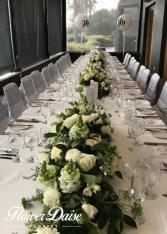 Innocence Wedding Table Runner