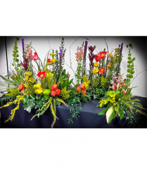 Inspiration Garden Cremation Tribute in Janesville, WI | Floral Expressions