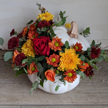 Inspired Fall Centerpiece