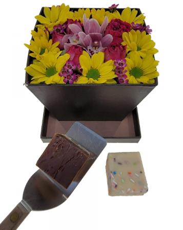 Inspired Sweetness Box arrangement