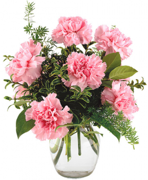 Everlasting Pinks  Vase Arrangement in Port Stanley, ON | FLOWERS BY ROSITA