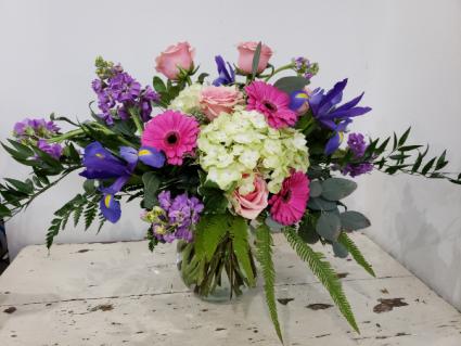 Iris Daydreams Mixed Bouquet