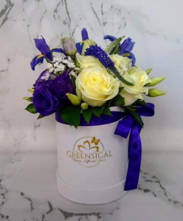 Iris in Garden Roses