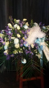 Iris you were here casket