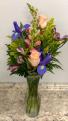 Iris Floral Vase