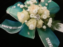 Irish Eyes Prom Corsage