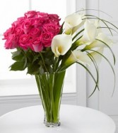 Irresistable Luxury Rose and Calla Lily Bouquet