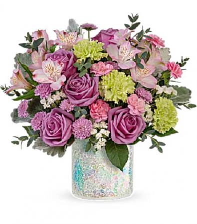 Irresistible Iridescence Bouquet PFD Iridescence - Standard, Deluxe or Premium
