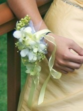Irresistible Orchid Wrist Corsage