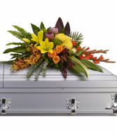 Island Memories Casket Spray Casket Spray