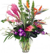 Island Paradise Tropical Arrangment 3 day advance order