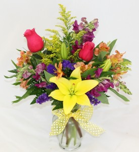 Island Sunset Fresh Arrangement