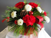 Isle of Red Flower Arrangement