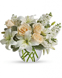 Isle of White Vase arrangement