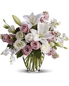 Isn't It Romantic Bouquet in Jasper, TX | BOBBIE'S BOKAY FLORIST