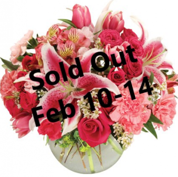 Isn't It Romantic Vase Arrangement