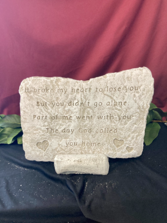 It Broke My Heart To Lose You Stone