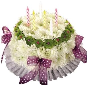 Stupendous It Is Your Happy Birthday Flower Cake In Garrett Park Md Funny Birthday Cards Online Barepcheapnameinfo