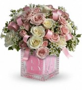 It's a Baby Girl Baby Bouquet