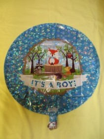 It's a Boy Balloon 2 Mylar Balloon