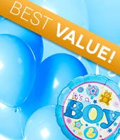 IT'S A BOY BALLOON BOUQUET  BALLOON BOUQUET