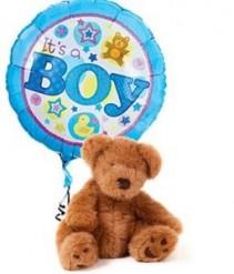 IT'S A BOY BEAR & BALLOON