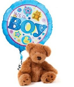 IT'S A BOY BEAR & BALLOON  in Camp Pendleton, CA | CAMP PENDLETON FLORIST