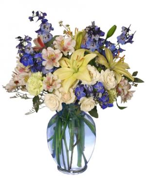 It's A Boy! Bouquet Flower Arrangement in Russellville, AR | CATHY'S FLOWERS & GIFTS