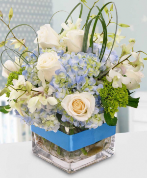It's A Boy Congratulations Arrangement in Colorado Springs, CO | ENCHANTED FLORIST II