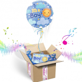 """""""It's A BOY"""" INFLATED Helium Balloon Gift Package"""