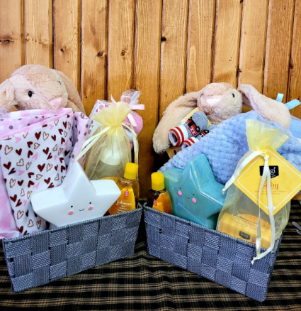 It's a Boy It's a Girl Gift Basket