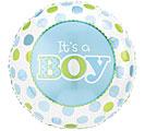 It's a boy mylar balloon balloon