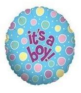 It's a Boy Mylar Balloon Mylar balloon