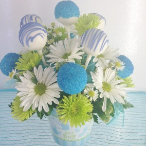 It's a Boy Pops & Posies Sweet Blossoms  in Jamestown, NC | Blossoms Florist & Bakery