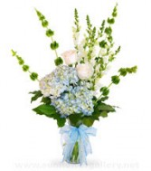 Its A Boy ring the belles Mixed Flowers